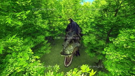 恐竜の写真素材 [FYI00086930]
