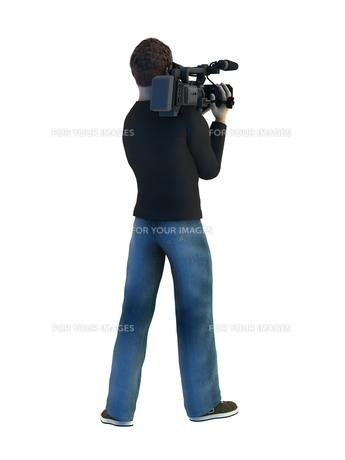 カメラマンの写真素材 [FYI00086944]