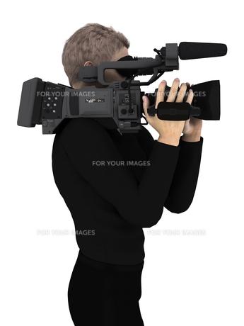 カメラマンの写真素材 [FYI00086962]
