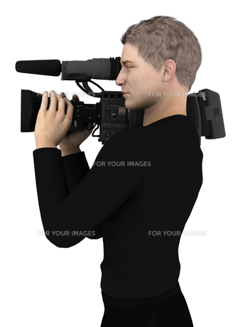 カメラマンの写真素材 [FYI00086981]