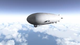 飛行船の写真素材 [FYI00087045]