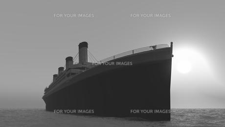 客船の素材 [FYI00087048]
