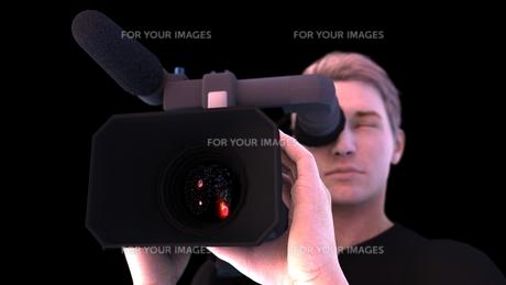 カメラマンの写真素材 [FYI00087064]