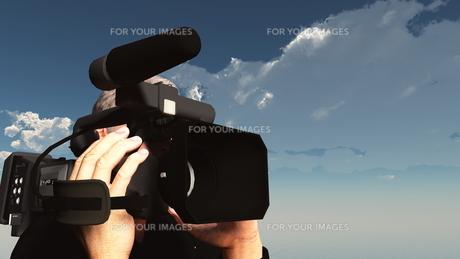 カメラマンの写真素材 [FYI00087066]