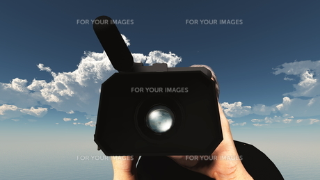 カメラマンの写真素材 [FYI00087083]