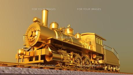 蒸気機関車の素材 [FYI00087140]