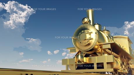蒸気機関車の素材 [FYI00087141]