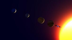 惑星の写真素材 [FYI00087388]