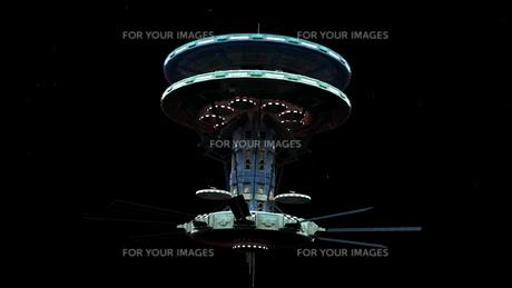 宇宙ステーションの写真素材 [FYI00087432]