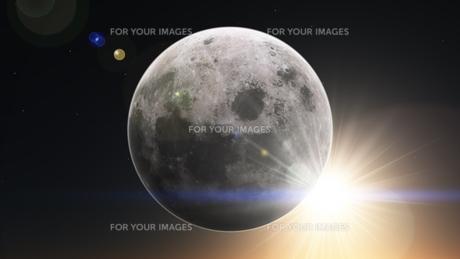 月の写真素材 [FYI00087434]