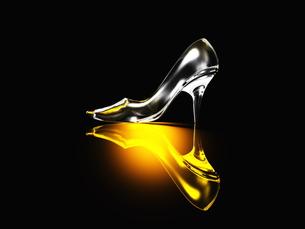 ガラスの靴の写真素材 [FYI00087439]