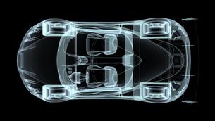 自動車の素材 [FYI00087448]