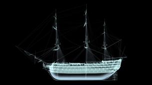 帆船の素材 [FYI00087450]