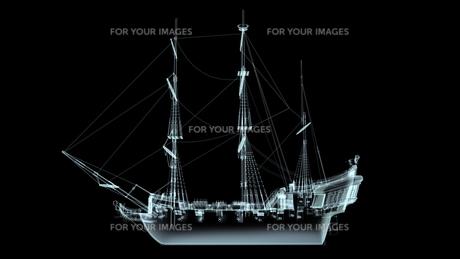 帆船の素材 [FYI00087453]