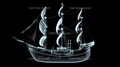 帆船の素材 [FYI00087454]