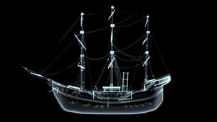 帆船の素材 [FYI00087455]