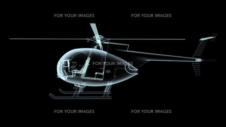 ヘリコプターの素材 [FYI00087479]