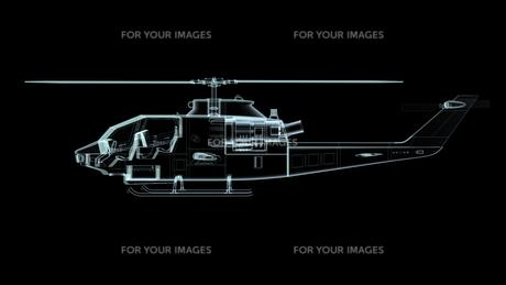 ヘリコプターの素材 [FYI00087500]