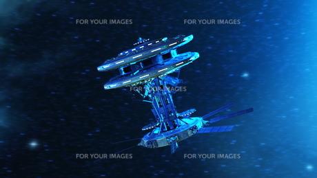 宇宙ステーションの写真素材 [FYI00087590]
