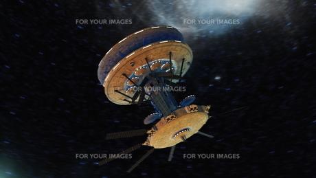 宇宙ステーションの写真素材 [FYI00087593]