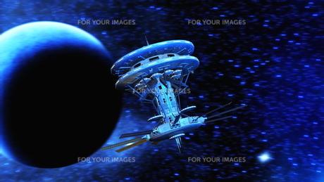 宇宙ステーションの写真素材 [FYI00087595]
