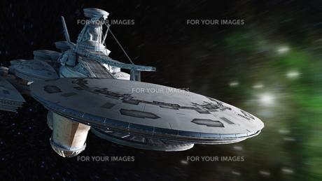 宇宙ステーションの写真素材 [FYI00087596]