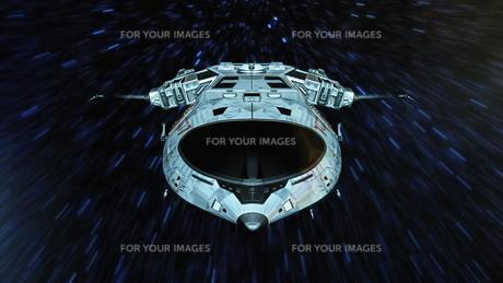 宇宙船の写真素材 [FYI00087597]