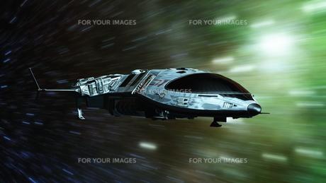 宇宙船の写真素材 [FYI00087599]