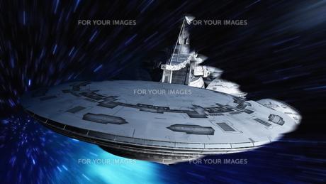 宇宙ステーションの写真素材 [FYI00087605]