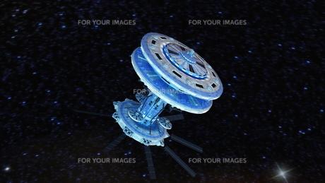 宇宙ステーションの写真素材 [FYI00087608]