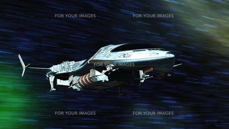 宇宙船の写真素材 [FYI00087614]