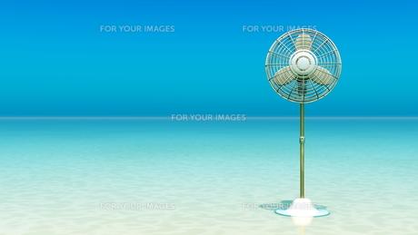 扇風機の写真素材 [FYI00087836]