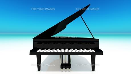 グランドピアノの写真素材 [FYI00087844]