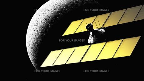 人工衛星の写真素材 [FYI00087868]