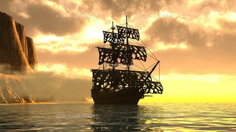 海賊船の素材 [FYI00087925]