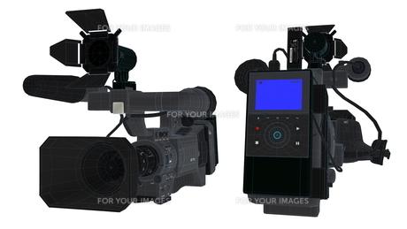ビデオカメラの写真素材 [FYI00088029]