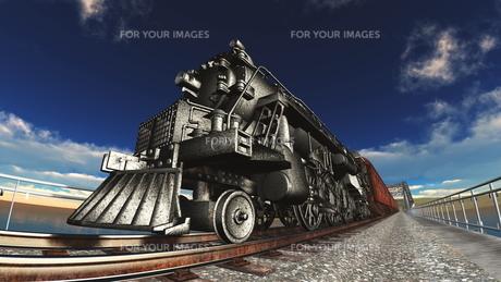 蒸気機関車の素材 [FYI00088102]