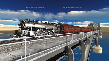 蒸気機関車の素材 [FYI00088108]