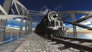 蒸気機関車の素材 [FYI00088110]