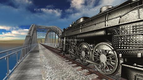 蒸気機関車の素材 [FYI00088138]