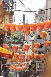 中華街ストリートの写真素材 [FYI00088424]