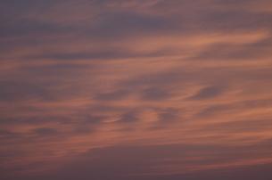 夕焼け雲の写真素材 [FYI00088452]