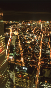 ワールドトレードセンターよりの夜景の写真素材 [FYI00088454]