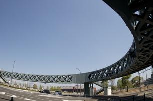 歩道橋の写真素材 [FYI00088456]
