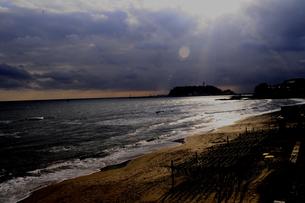 江の島遠景の写真素材 [FYI00088458]