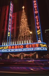 ラジオシティのクリスマスの写真素材 [FYI00088473]