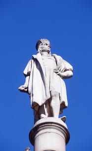 コロンバスサークルのコロンブス像の写真素材 [FYI00088475]