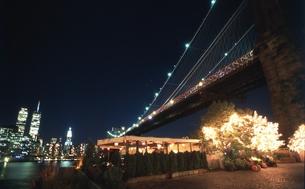 ブルックリンより望むマンハッタンの写真素材 [FYI00088483]