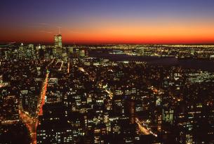 マンハッタン夜景 WTCの写真素材 [FYI00088498]