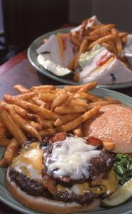 ハンバーガー&サンドウィッチの写真素材 [FYI00088503]